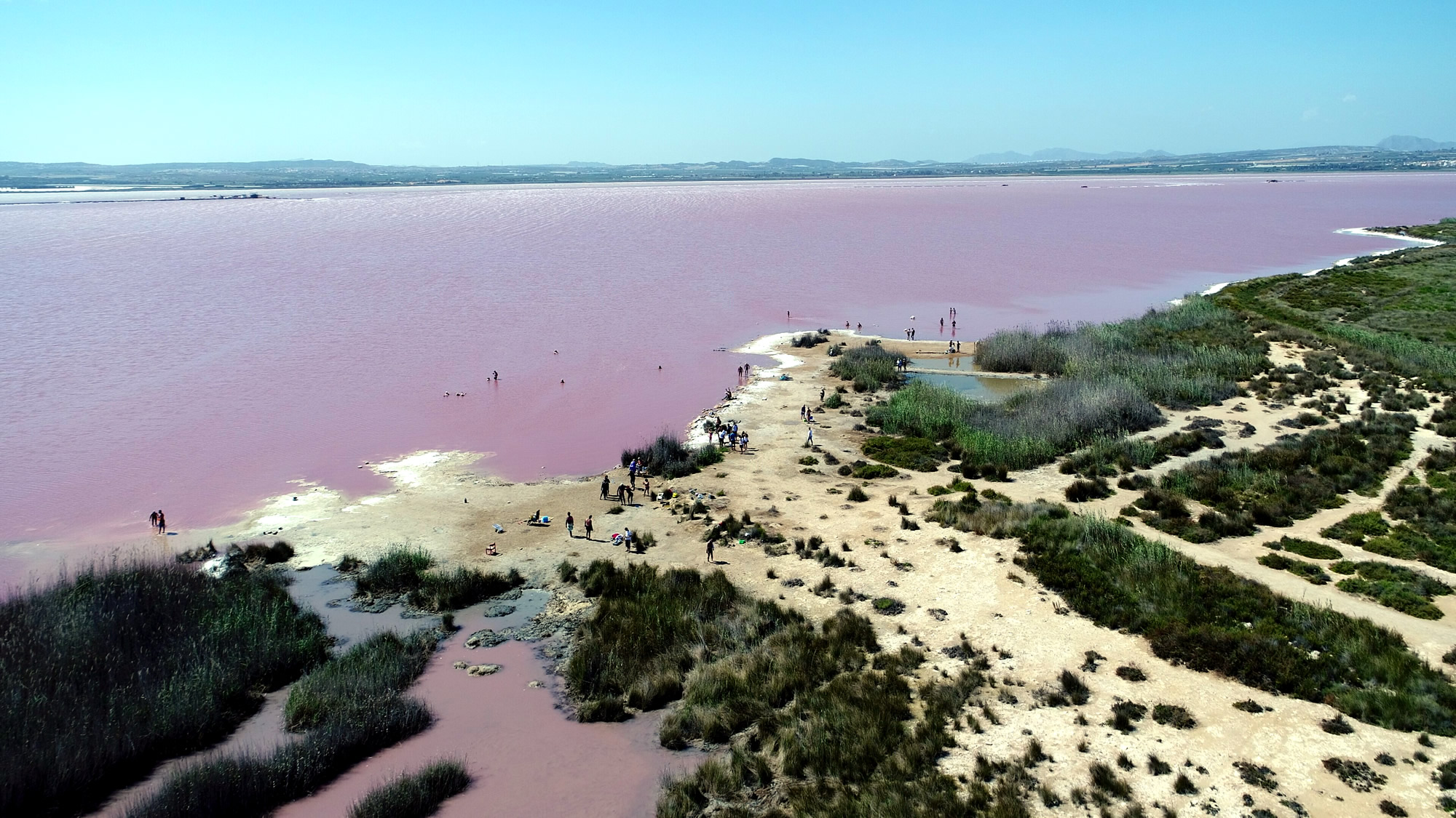 Torrevieja Salt Lake Spain