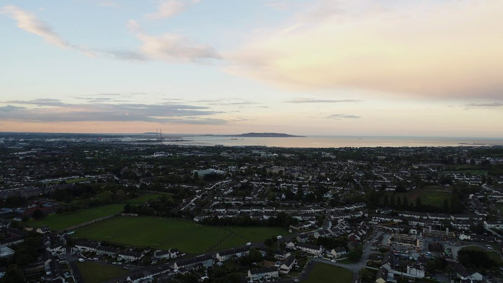 Dublin Bay View from Dundrum