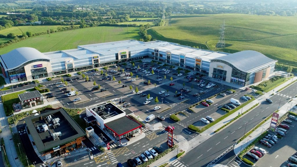 Carrickmines Shopping Centre AerialDrone.ie