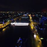Dublin Liffey River CCD Building Skyline