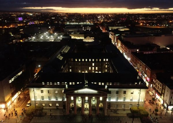 GPO Dublin at Night